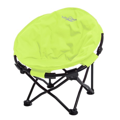 Lucky Bums Moon Camp Chair - Small in Green
