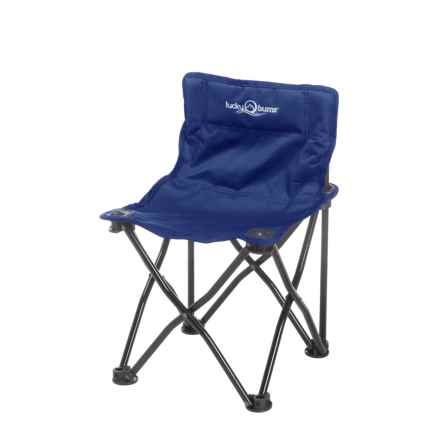 Lucky Bums Quick Camp Chair in Blue - Closeouts