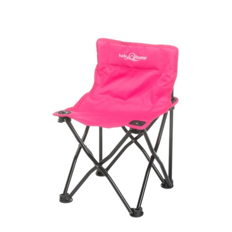 Lucky Bums Quick Camp Chair in Pink
