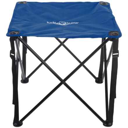 Lucky Bums Quick Camp Table in Blue - Closeouts