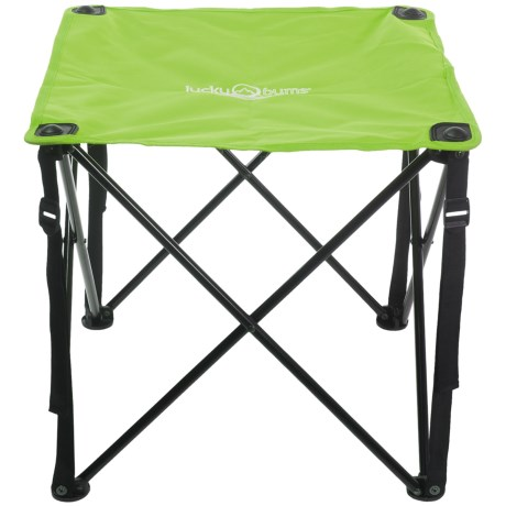 Lucky Bums Quick Camp Table in Green