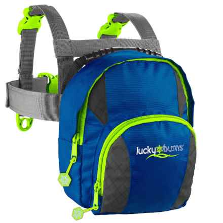 Lucky Bums Ski Trainer Harness (For Kids) in Blue - Closeouts