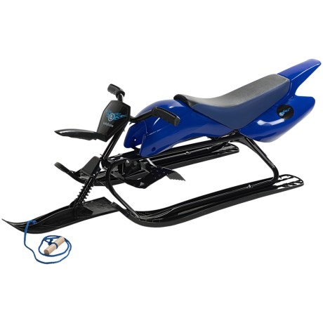 Lucky Bums Snow Racer Extreme Sled in Blue