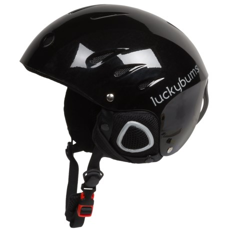 Lucky Bums Ski and Snowboard Helmet with Fleece Liner