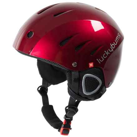 Lucky Bums Snowsport Helmet (For Kids) in Red - Closeouts
