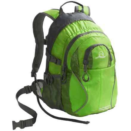Lucky Bums Switchback II 18 Backpack (For Kids) in Green - Closeouts