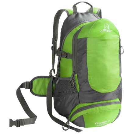 Lucky Bums Tracker II 25 Backpack (For Kids) in Green - Closeouts