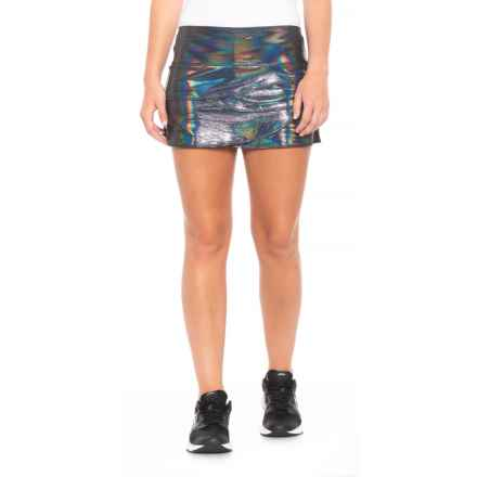 Lucky in Love Iridescent Scallop Skorts - UPF 30+ (For Women) in Multi - Closeouts