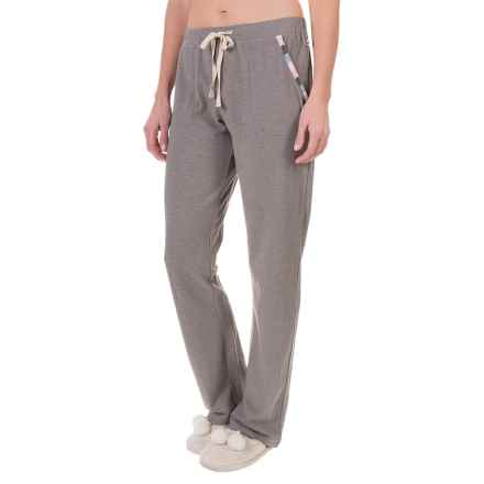 Lucky Sleepwear Embroidered Lounge Pants (For Women) in Grey - Closeouts
