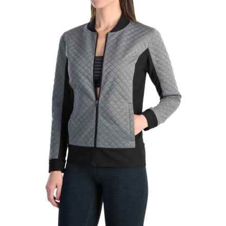 lucy After Class Jacket - Insulated (For Women) in Lucy Black Heather - Closeouts