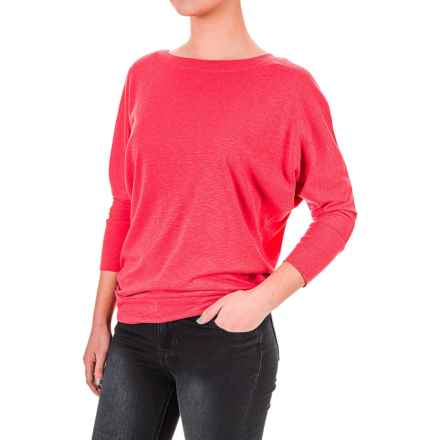 Lucy & Laurel Dolman Shirt - 3/4 Sleeve (For Women) in Flo Lipstick - Overstock