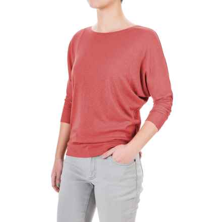 Lucy & Laurel Dolman Shirt - 3/4 Sleeve (For Women) in Mauvewood - Overstock