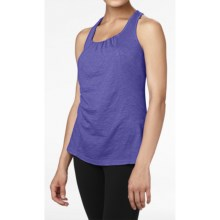 lucy Blissful Tank Top - Cotton (For Women) in Passiflora - Closeouts