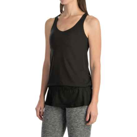 lucy Circuit Training Tank Top - Built-In Bra (For Women) in Lucy Black - Closeouts