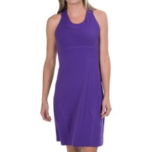 lucy City Adventure Tank Dress - Built-in Sports Bra (For Women) in Purple Jewel - Closeouts