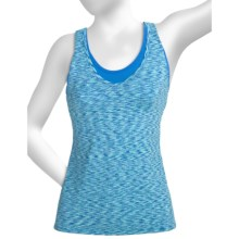 lucy Cross-Country Cutie Tank Top - Built-In Bra (For Women) in Lagoon - Closeouts