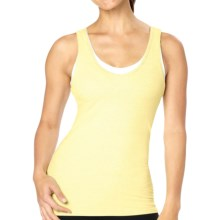 lucy Cross-Country Cutie Tank Top - Built-In Bra (For Women) in Lemon Zest - Closeouts