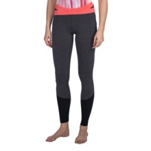 lucy Divine Power Leggings (For Women) in Asphalt/Heather/Dubarry - Closeouts
