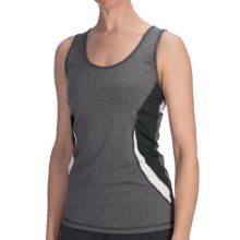 lucy Endurance Tank Top - UPF 30 (For Women) in Asphalt Heather - Closeouts