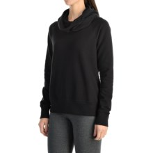 lucy Lift It Up Pullover Shirt - Long Sleeve (For Women) in Lucy Black - Closeouts