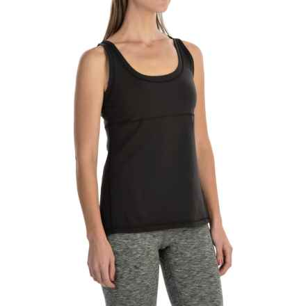 lucy Lotus Tank Top (For Women) in Lucy Black - Closeouts