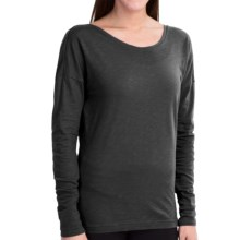 lucy Perfect Pose Shirt - Long Sleeve (For Women) in Lucy Black - Closeouts