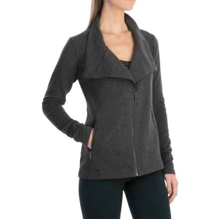 lucy Powerfully Poised Jacket (For Women) in Asphalt Heather - Closeouts