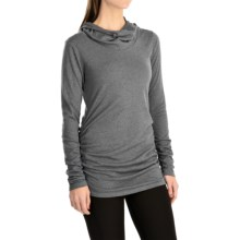 lucy Raise the Bar Shirt - Long Sleeve (For Women) in Sleet Grey Heather - Closeouts