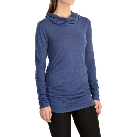 lucy Raise the Bar Shirt - Long Sleeve (For Women) in Sodalite Blue Heather