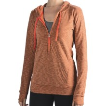 lucy Sexy Hoodie II Sweatshirt (For Women) in Nectarine Heather - Closeouts