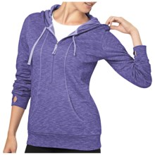 lucy Sexy Hoodie II Sweatshirt (For Women) in Passiflora Heather - Closeouts