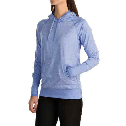 lucy Sweat It Out Hoodie (For Women) in Petunia Heather - Closeouts