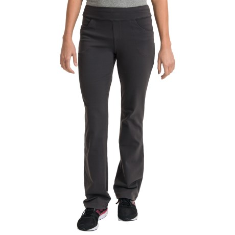 lucy Travel Pants - UPF 30, Supplex® (For Women) in Asphalt