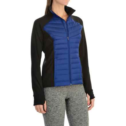 lucy Winter Warrior Jacket - Insulated (For Women) in Lucy Black/Sodalite Blue - Closeouts