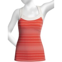 lucy X-Back Tank Top (For Women) in Flame Mesh Print - Closeouts