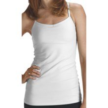 lucy Yoga Siren Top - Supplex® Nylon, Racerback (For Women) in Lucy White - Closeouts