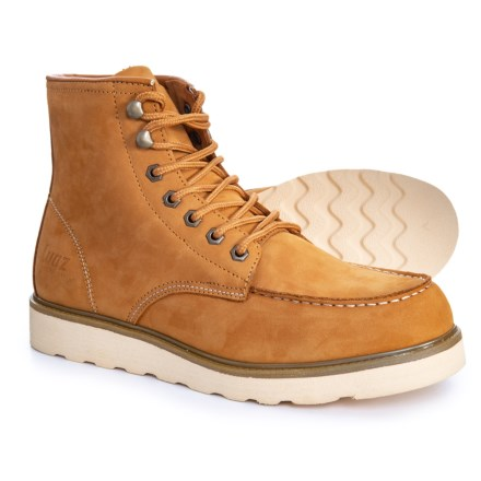 new concept f891a 77459 Lugz Prospect Boots - Insulated, Leather (For Men) in Golden WheatCream
