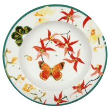 Lulu DK Petals Porcelain Soup Bowls - Set of 4 in Multi - Closeouts