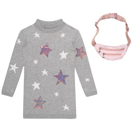 a5914bb9fe LULURAIN Sweater Dress and Fanny Pack Set - 2-Piece