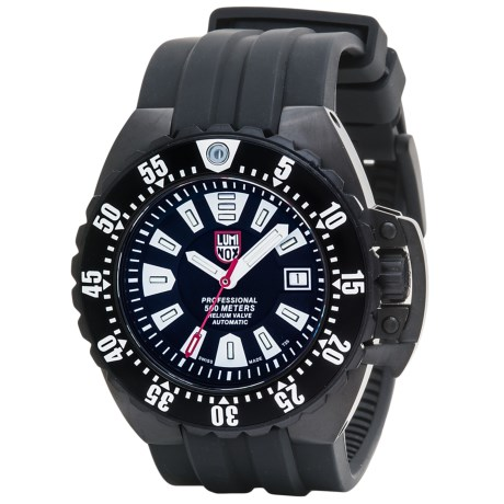 Luminox Deep Dive Watch Rubber Strap (For Men)