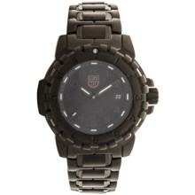 Luminox F-117 Nighthawk 6402.BO Steel Analog Watch - Stainless Steel Strap (For Men) in Black/Black - Closeouts
