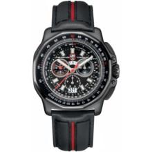 Luminox F-22 Raptor 9270 Chronograph Watch - Black Leather Strap (For Men) in Black/Black - Closeouts
