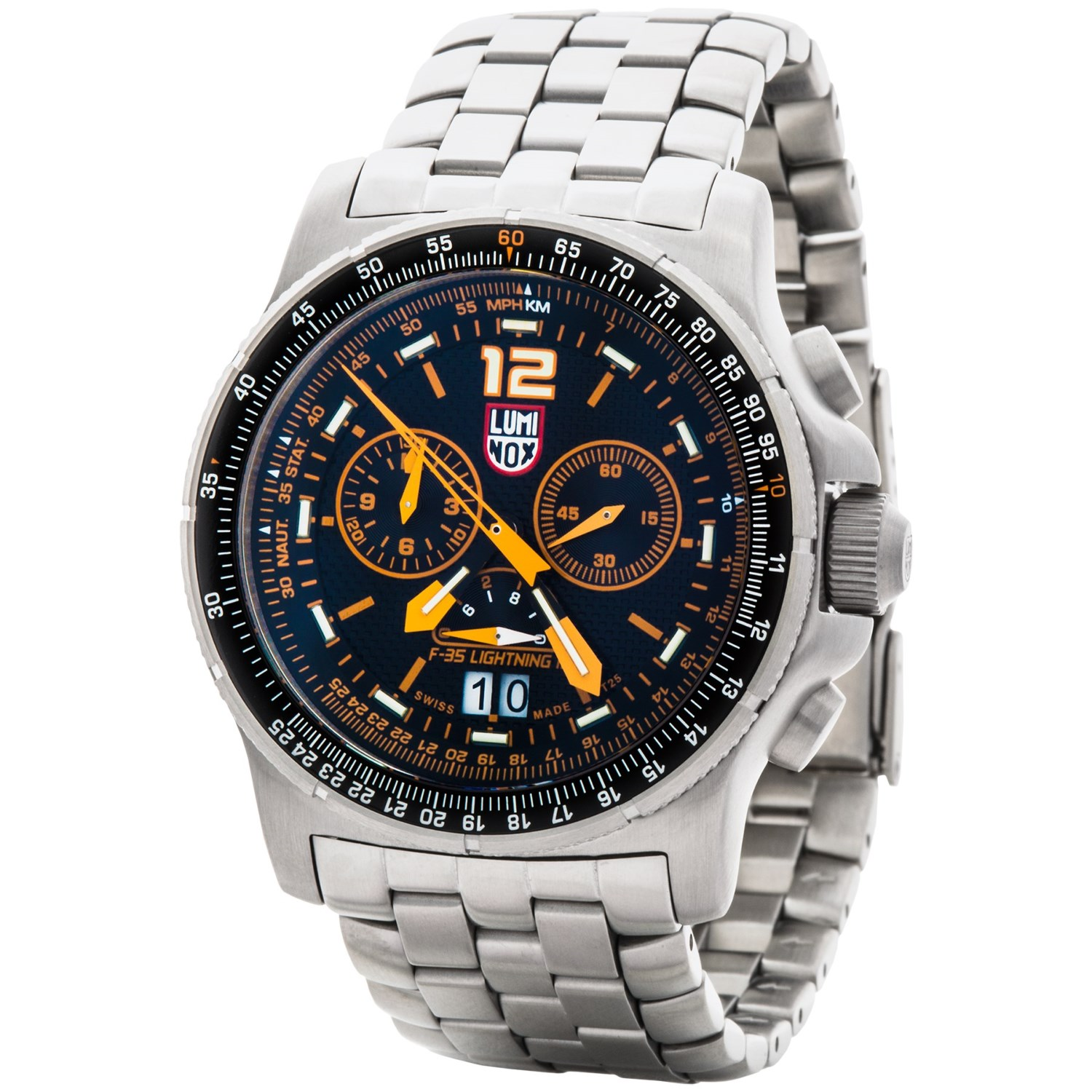 Luminox f 35 lightning ii 9380 series chronograph watch for men save 37 for Luminox watches