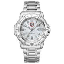 Luminox Modern Mariner 7250 Watch - Stainless Steel Bracelet (For Women) in Pearl/Silver - Closeouts