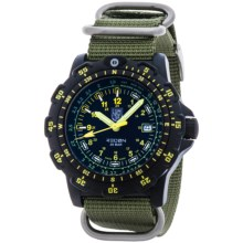 Luminox Recon Point Man 8826.MI Analog Watch - Nylon Strap (For Men) in Black/Olive - Closeouts