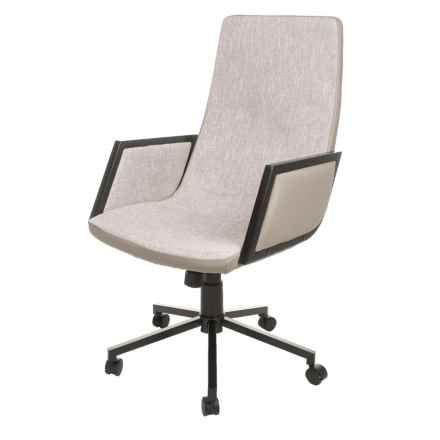 LumiSource Governor Office Chair in Light Gray - Closeouts