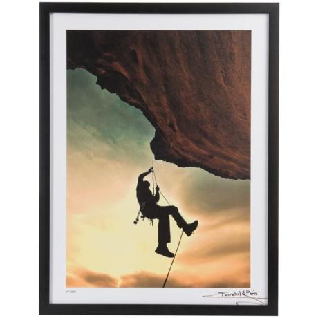 "Luxe West Fairchild Paris Expert Rock Climber Print - 18x24"" in See Photo"