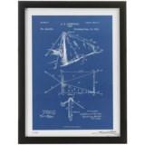 """Luxe West Fairchild Paris Tent Patent Print - 12x16"""""""
