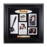 "Luxe West Seinfeld ""No Soup For You"" Autographed Soup Ladle Collage"