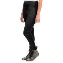Lysse Sophie Satin Leggings (For Women) in Black - Closeouts